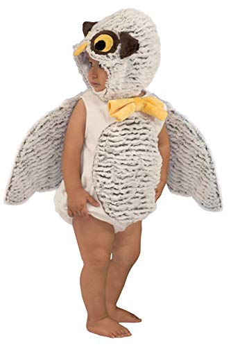 Princess Paradise Baby Oliver The Owl, White/Brown 18M/2T -