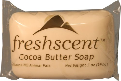 5 oz Freshscent Cocoa Butter Soap 72 pcs sku# 1471616MA