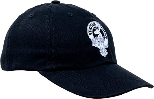 - Clan Keith | Scottish Heritage Veritas Vincit Crest Scotland Baseball Cap Hat Black