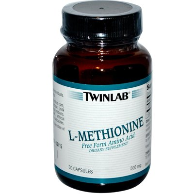Twinlab L-Méthionine - 500 mg - 30 Capsules - HSG-792200