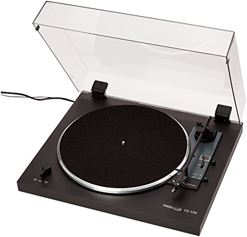Price comparison product image Thorens TD 170-1 Fully AutomaticTurntable - 33 or 45 or 78 rpm OMB 10 (Black)