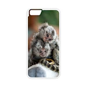 """GTROCG Baby Monkey Phone Case For iPhone 6 (4.7"""") [Pattern-6]"""