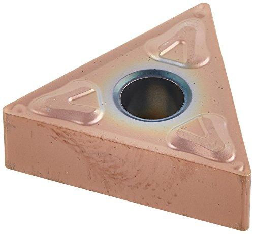 Sandvik Coromant, TNMG 331-XF GC15, T-Max P Insert for Turning, Carbide, Triangle, Neutral Cut, GC15 Grade, (Ti,Al) N+(Al,Cr)2O3