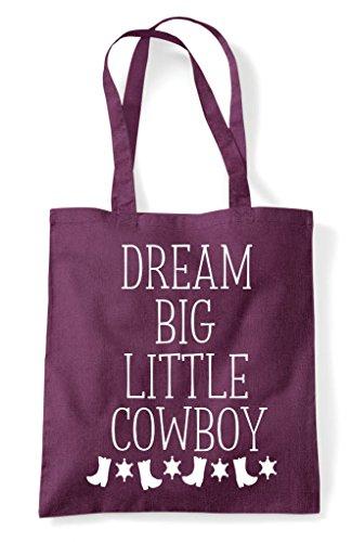 Bag Statement Plum Shopper Cowboy Big Dream Tote Little tTwZq6ZxX