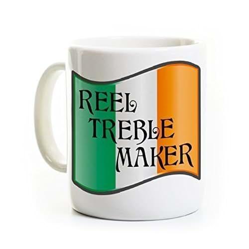 Treble Maker Coffee Mug : Amazon.com: Irish Dance Coffee Mug - Reel Treble Maker - Funny Irish Dancing Mug: Handmade