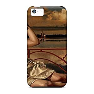 Tpu Phone Case With Fashionable Look For Iphone 5c - Beach Girls