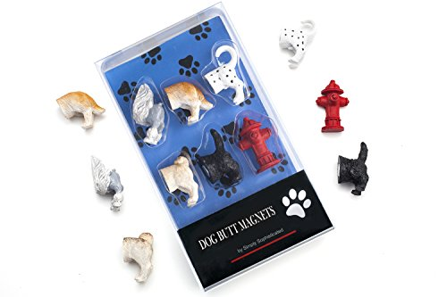 Dog Butt Refrigerator Magnets