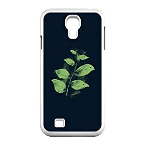 Samsung Galaxy S4 9500 Cell Phone Case White Flying Leaves Vzbpw