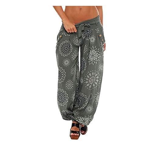 Trouser Longra pleine Pant Taille Pantalons longueur Actif Skinny Poche Pantalon Pantalon Large Stretch Sport Sarouel Pantacourt Casual Haute Pantalon Vert Imprimé Femme Loose leggings 0q6BFrw0