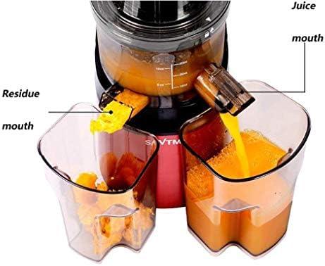 KZEN Exprimidor De Fruta, Multifuncional 250W De Gran Calibre Automático Completo Mezclador 1000ML Gran Capacidad De Mezcla Rápida (Vino Tinto)