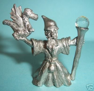 Pewter Fantasy Wizard