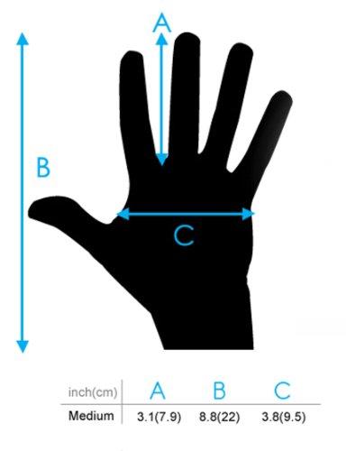 DURAGADGET Unisex Size Medium Black Touch Screen Gloves For Haier Pad Maxi 10.1'', Haier Mini 8'', Haier Mini 7'', I-Onik TP7-1000DC, I-Onik TP7-1200QC, I-Onik TP785-12000C, I-Onik TP8-1500DC by DURAGADGET (Image #3)