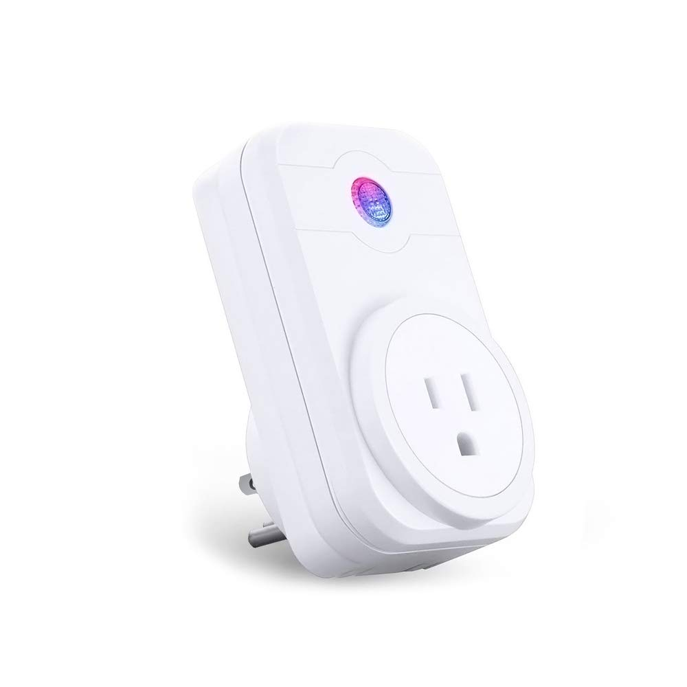 Smart Plug Wifi Outlet Compatible with Amazon Alexa Google Assistant Remote Control from Anywhere Timing Function Energy Saving Plug No Hub Required ANEKEN