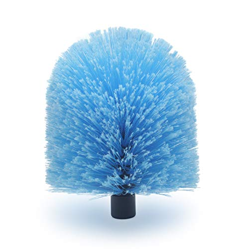 EVERSPROUT Twist-On Cobweb Duster | Hand Packaged to Protect Bristles | Indoor & Outdoor use Brush Attachment | Fits Standard Acme Threaded Poles | Brush Head with Handle  (Soft Bristles) ()