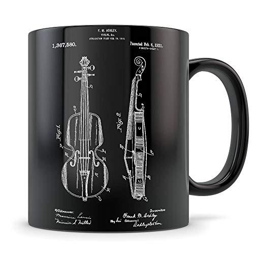 Violin gift, violin patent, violin mug, violin gift for women, violin player, violin gift idea, violin themed gifts, violin teacher gifts