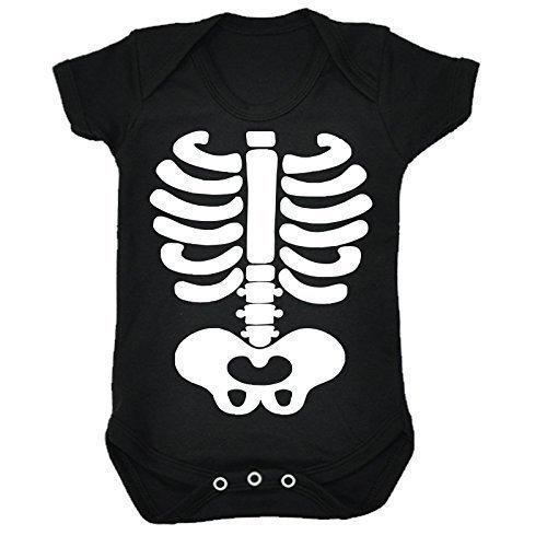 123t Baby SKELETON DESIGN Babygrow