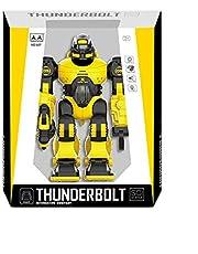 Three Stare 607 Radio Controlled Thunderbolt Robot - Yellow