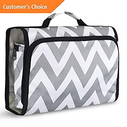 697f9e70d4f9 Amazon.com: Werrox Women Multifunction Travel Hanging Cosmetic Bag ...