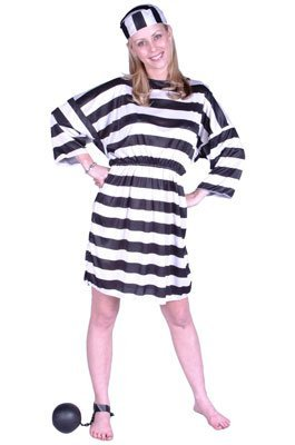 [Lady Convict Costume (One Size Fits Most)] (Lady Convict Costumes)