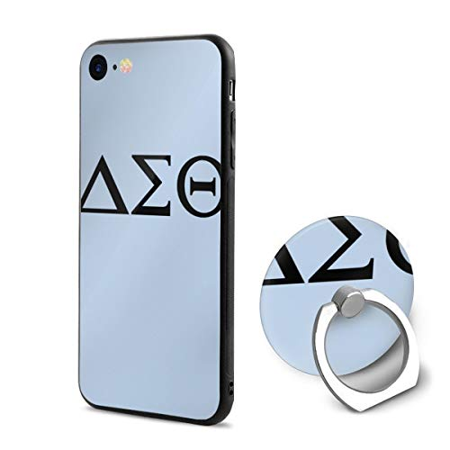 Delta-Sigma-Theta PC iPhone 6/iPhone 6s Phone Case Protective 3D Slim Back Cover 4.7 Inch Ultra Thin & Light Soft Touch Feeling Flexible Anti-Scratch for iPhone 6/6s