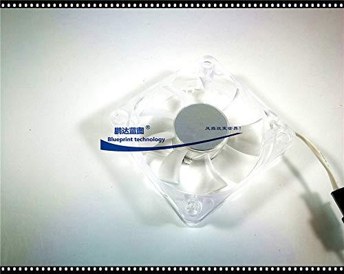 REFIT New Mute Yonglin 6015 6CM 12V DFC601512L Chassis Transparent Cooling Fan