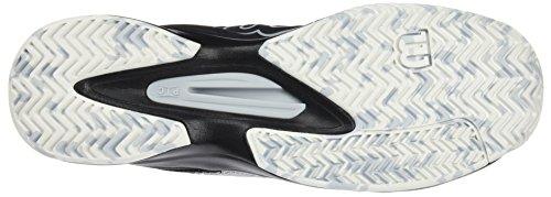 giocatori blu sintetico da Scarpe ideali Comp Wilson Type offensivi da tessuto bianco per nero nero uomo bianco Kaos All Terrain perla tennis CwwqFnxA
