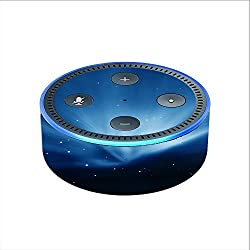 Skin Decal Vinyl Wrap for Amazon Echo Dot 2 (2nd generation) / Space