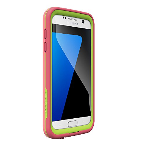 LifeProof FRE Series Waterproof Case for Samsung Galaxy S7 - Retail Packaging - Sunset (Pipeline Wind SURF/Lime)