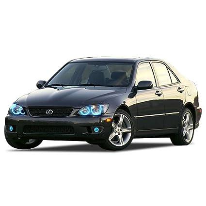e4effaaef893 Amazon.com  FLASHTECH Lexus is300 01-05 Blue Single Color LED Halo ...