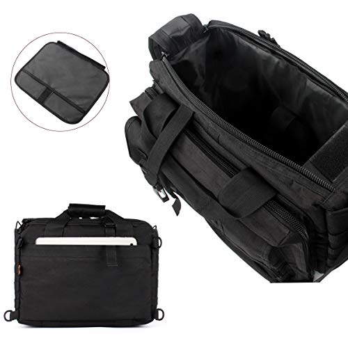 GES Multifonctions Tactique en Nylon d'épaule pour Ordinateur Portable Messenger Bag Porte-Documents Sacs à Main pour 15… 3