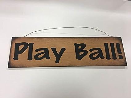 Amazon.com: Play Ball Batter Up Baseball deportes recámara ...