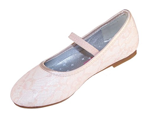 Chaussures fille ivoire ballerine