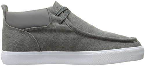 Lugz Mens Strider Hc Moda Sneaker Carbone / Bianco / Gum