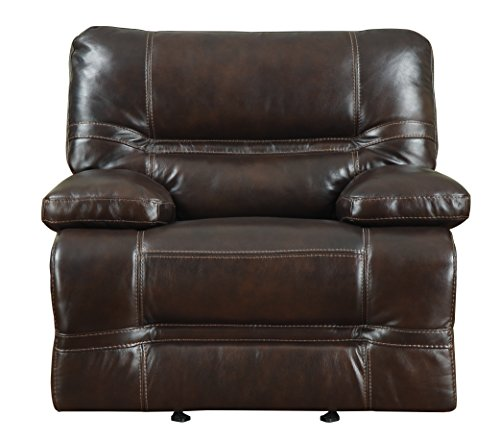 Pulaski Overland Power Recliner Leather, Chocolate