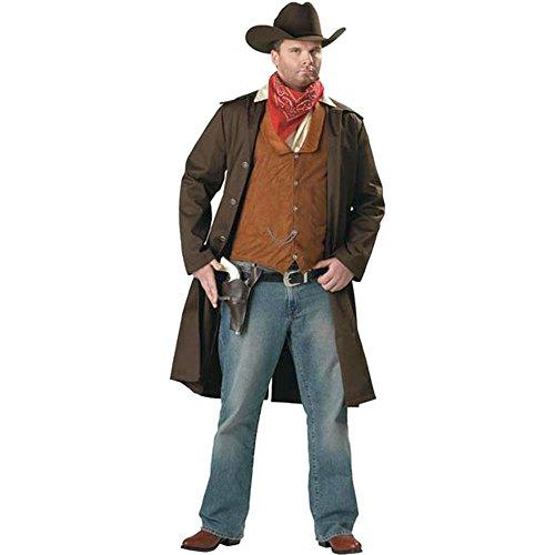 Adult Men's Plus Size Gunslinger Costume 3XL