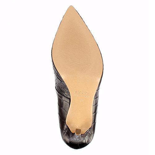 ffed26c03eb ... Evita Shoes Alina - Zapatos de vestir de Piel para mujer marrón oscuro  ...