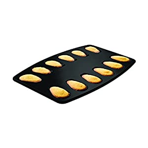 Zenker Non-Stick Carbon Steel Madeleine Pan, 12-Count