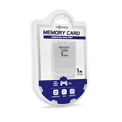 41xRmlYPgRL - Tomee 1MB Memory Card for PS1