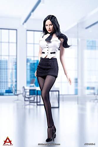 AF.Fun 1/6 Scale Sexy Female Secretary Clothing Set (White)