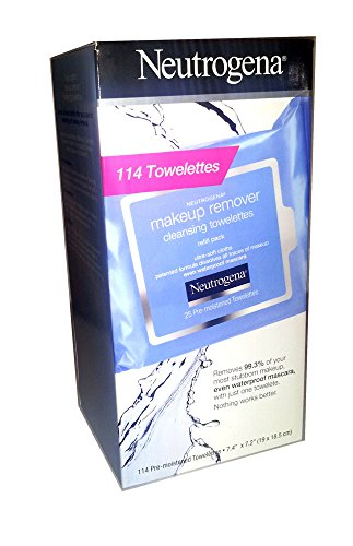 Neutrogena Makeup Remover 114 Cleansing Towelettes product image