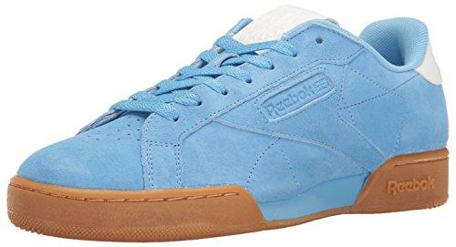 Reebok Men's Npc UK II EL Fashion Sneaker, Sky Blue/White Gum, 12 M (Blue White Gum)