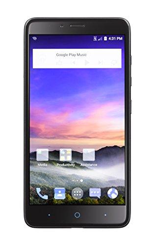 TracFoneZTEMAXDUO4G LTE CDMA Prepaid Smartphone