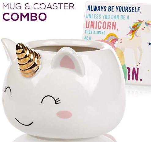 Unicorn Mug Coaster Gift Set product image