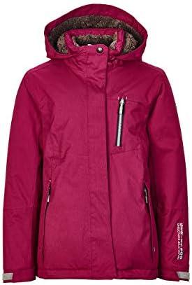 killtec Girls Helina Jr Functional Outdoor Winter Jacket with Hood//Waterproof//Hydrostatic Head 10000 mm