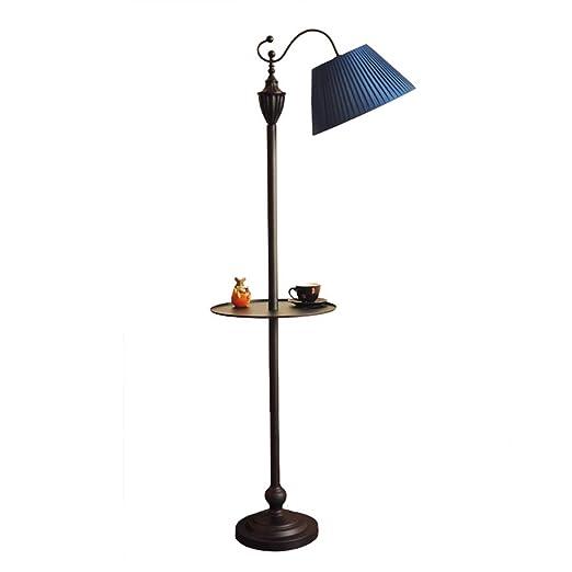 & Lámparas de pie Lámpara de pie, sofá LED detrás de la Sala de ...