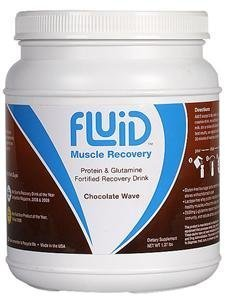 Fluid Recovery Chocolate Wave Canister - 16 Servings - root, 16 servings by Fluid by Fluid