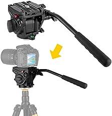 E Image Ek60aam Fluid Drag Video Head And Tripod Black From Bh