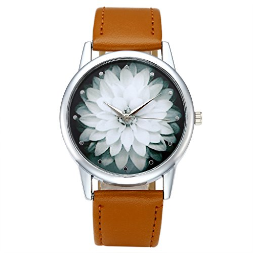 Top Plaza Elegant Fashion Watch Brown