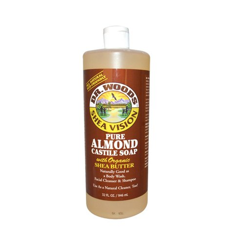 Vision Wood (Dr Woods Products Pure Almond Castile Soap with Organic Shea Butter 32)