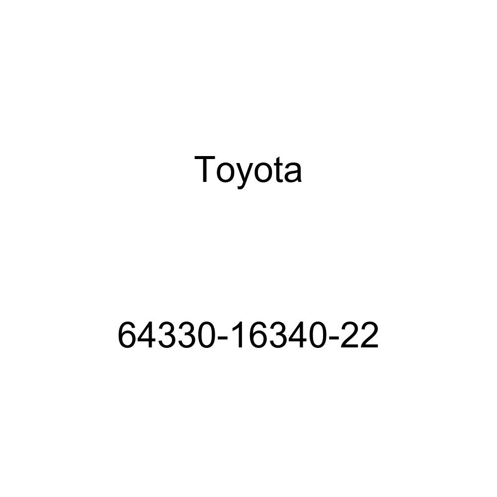 Toyota Genuine 64330-16340-22 Package Tray Trim Panel Assembly